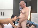 Cock in the horny old mom xxx Hot romp after a hot bath