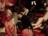 Gingers interact sexually with the other swinger couples