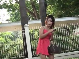 Thai amazing girl picked up for sex