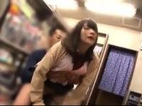 Japanese teen amateur public party