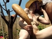 hairy old mom outdoor fucked