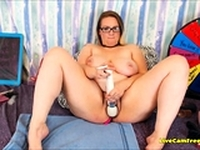 BBW with Hairy Pussy and Huge Boobs