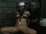 Raunchy girlfriend who likes to ride a dildo