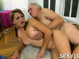 Gal gets a wild drilling from lascivious elderly teacher