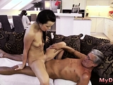 Old man watching girl first time What would you prefer -