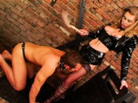 Astounding girl gets squeezed and teased