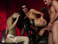 Mistress Helya wants her slaves to fuck