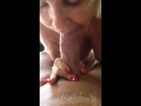 Mature Blonde Granny Really Loves Cock