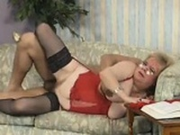 Grandmother That Loves Thick And Stiff Cock