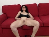 Mature takes a BBC up her ass until its filled with cum!