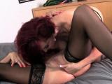Sexy Vanessa and her mature girlfriend get naughty