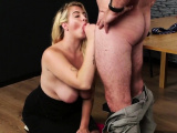 Unusual model gets cum shot on her face swallowing al69NIk