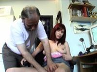 Enchanting damsel Jessica with curvy natural tits cums hard