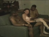 All interracial internal creampie