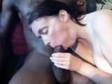 Mature white wife enjoying her first BBC