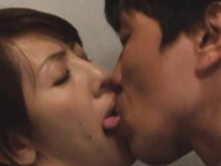 Tempting eastern girlfriend feels well on top