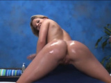 Aroused minx Shaye Bennet conquers a huge sausage