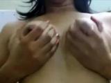 Young indian girl teasing