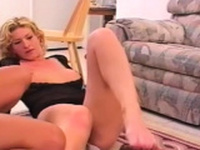 Sweethearts enduring femdom action in home episode scene