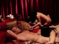 Amateur swinger party becomes an orgy