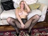 Pantyhose Wearing Blondie