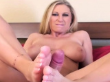 Slender maid with massive tits craves for rod and gets it