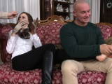 Euro MILF doublepenetrated after blowing
