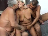 Old lesbians and one threesome with omapass grannies