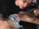 Maiden is using a fake penis to make herself cum