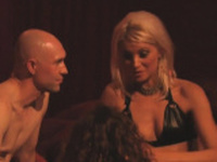 Sexy amateur swinger couple is having fun at this wild orgy!