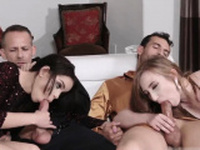 Teen sex and submission bondage New Year New Swap