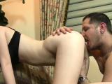 Appealing hotties moist ass gets eaten out by her boyfriend