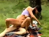 Teen Couple Outdoor Fuck