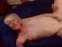Blonde Babe Takes Her Mans Orgasm