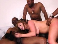 Redheads pussy blacked
