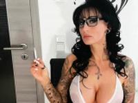 german femdom big boobs milf smoke