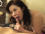 Sexy beauteous gal widen and licked