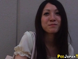 Followed japanese cutie urinates
