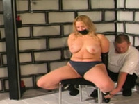 Worshipped maid is getting her pussy fingering