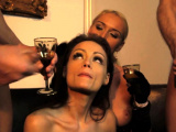 Sub beauty dp screwed by maledom in foursome