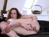 Pussy stretching solo play