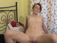 Sinful Maggies getting her tight honey pot fucked