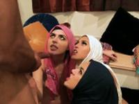 Man fucks young teen Hot arab dolls attempt foursome