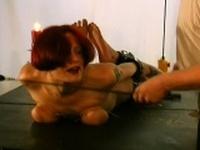 Intense tits anguish fetish