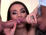 Smalltits eurobabe bent over and DP fucked