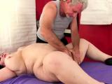 Fat Mature Lady Lynn Orgasmic Rubdown