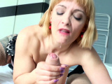 Big Tits Step Mom Mary Caught Son Masturbate and Finish Him