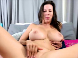 CamSoda - Alexis Fawx strips and rubs her pussy in solo