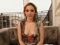 Sexy gf blonde anal