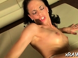Sultry Kristine Kristalys gets groped and fucked
